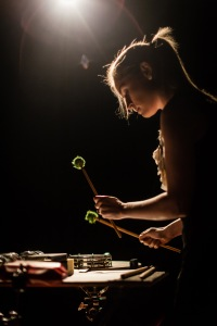 Louise Devenish, percussionist
