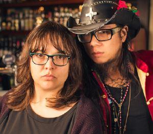 Alicia Osyka and Joe Lui, image by Simon Pynt